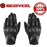Scoyco Mc10 Bike Riding Gloves(Black And White,Xl) (Set Of 2)