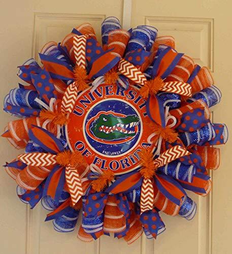 Florida Sports Wreaths, Florida College Wreaths, Gator Nation (3003)