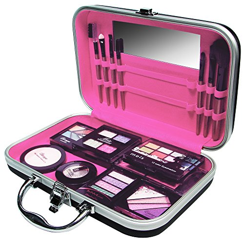 Ikee Design Jewelry and Cosmetic Travel Case Pink