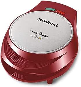 Omeleteira Mondial Pratic Omelet 1000W OM-03 Vermelha