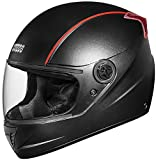 Studds Professional Full Face Helmet (Black and Red , M)