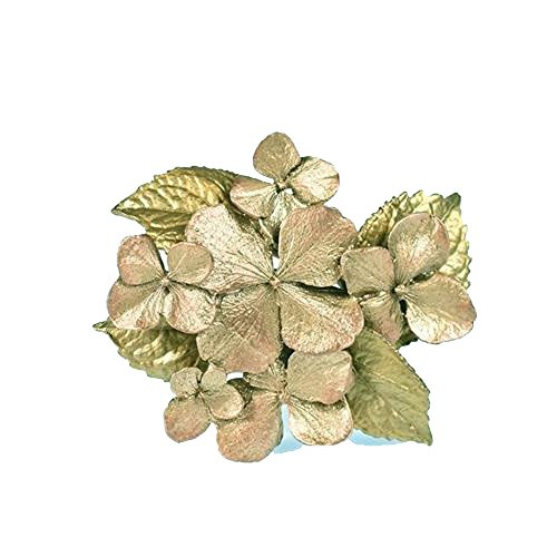 ''Hydrangea'' Flower Pin/Brooch by Michael Michaud for Silver Seasons… by Michael Michaud