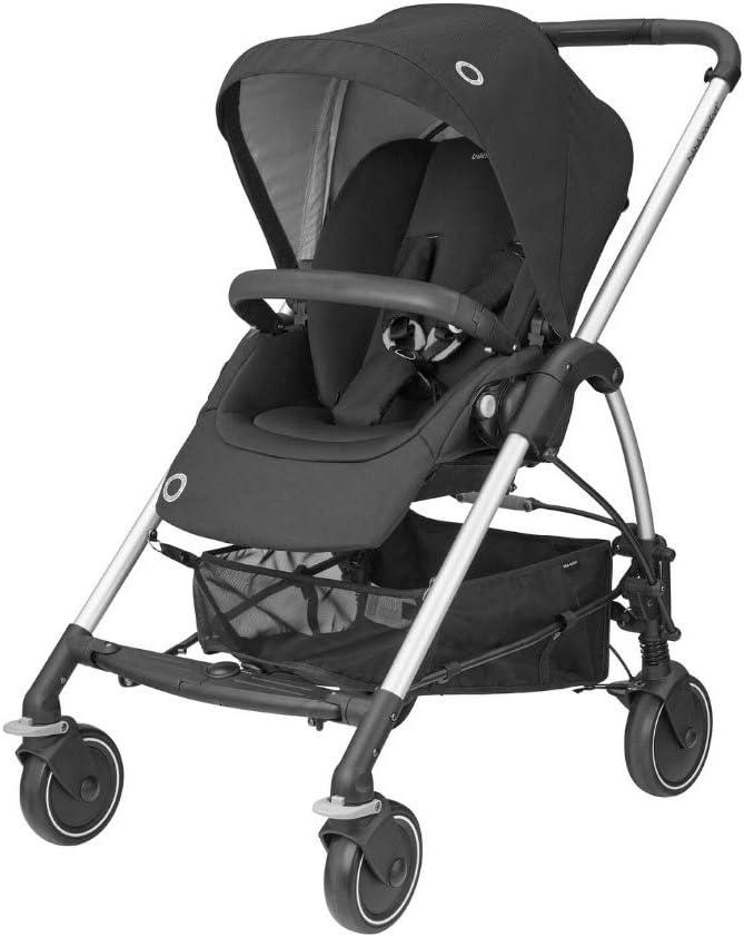Bébé Confort Mya, Nhỏ gọn và nhẹ, Xe đẩy thành phố, Từ sơ sinh đến 3,5 tuổi (0-15 kg), Màu đen
