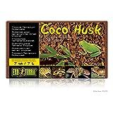 PT2775 - Description : Cocohusk Brick - Exo-Terra Coco Husk Substrate - Each