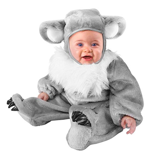 Unique Infant Baby Koala Bear Animal Costume (12-18 -