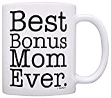 Mother's Day Gift for Step Mom Best Bonus Mom Ever Stepmother Gift Coffee