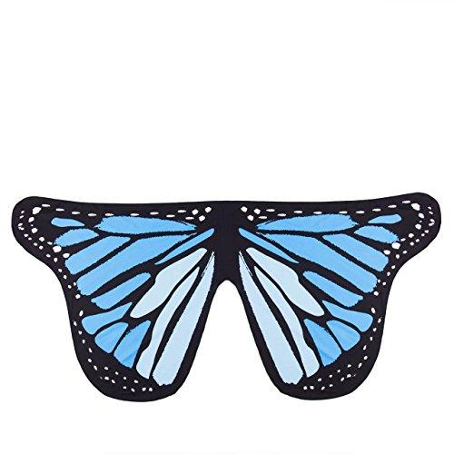 Happy (Blue Monarch Butterfly Costume)