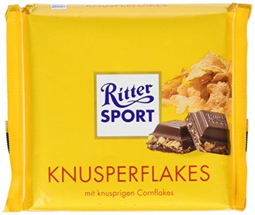 Ritter Sport Knusper Flakes Bar, 3.5 Ounce