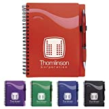 Good Value Wave Notebook with Epiphany Pen Green 500 Pack