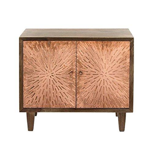Deco 79 27824 Wooden 2 Door Cabinet