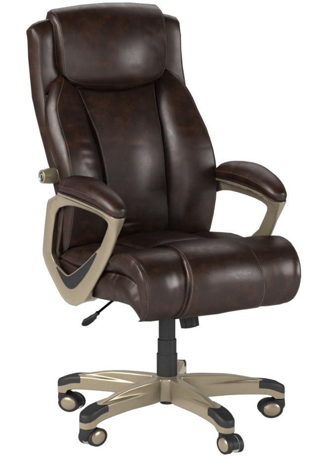 Amazon Basics Big Tall Executive Computer Desk Chair