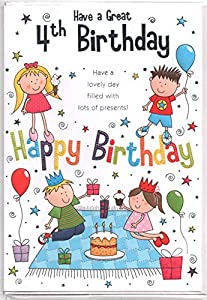 Birthday wishes for 4 years old girl