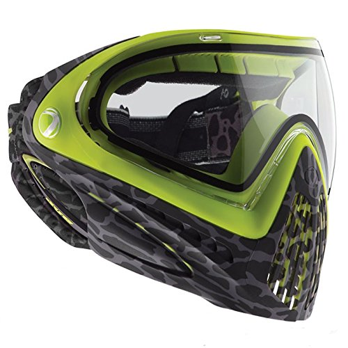 (Dye Precision i4 Goggle System - Skinned Lime)