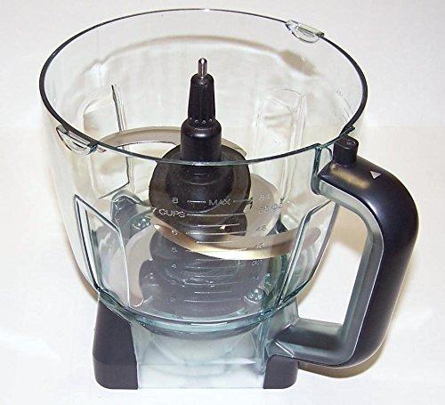 NEW Ninja 64oz (8 Cup) Food Processor Bowl + Blade for BL770 BL771 BL772 BL780 by Shark Ninja (Image #2)
