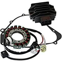 Caltric STATOR & REGULATOR RECTIFIER FITS YAMAHA GRIZZLY...