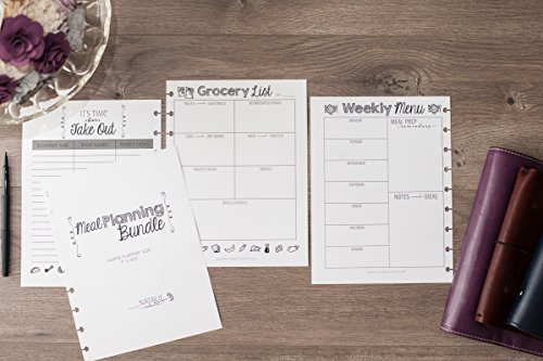 Meal Planning Bundle for The Happy Planner, 6 Month Supply