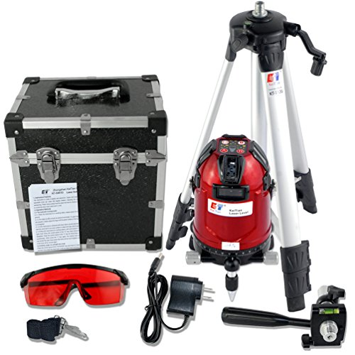 Kaitian Line Laser Leveling 8 Lines Self Leveling Rotary Laser with Tripod