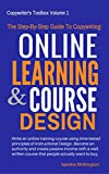 Do You Want Make Money Online? Create An Online Course!This book walks you through every step of creating an effective online learning course using time-tested principles of instructional design and instructional writing. It's a multi-step guide that...