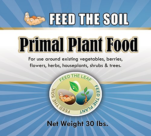 - Premium Organic Fertilizer - Primal Plant Food - Best Indoor & Outdoor Fertilizer - Grow Healthy Plants And Vegetables Without Damaging Soil - 100% Organic - Rock-powder Based Organic Ingredients