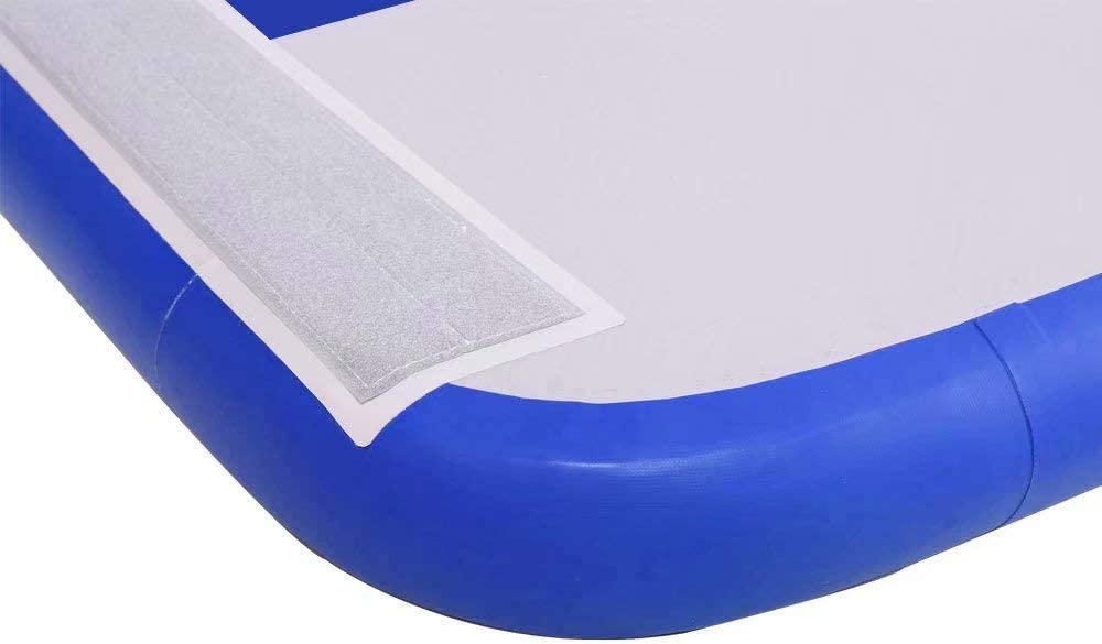 FUNME Inflatable Tumbling Airtrack Gymnastics Air Floor Exercise Mats 5ft Width, 6inch Thickness, 13ft//16ft//20ft//23ft//26.2ft//29.5ft//32.8ft//39.3ft//49.2ft Length