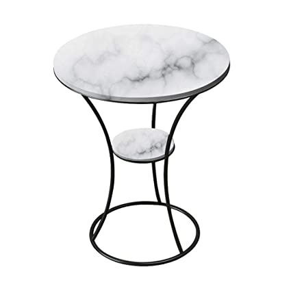 Peachy Amazon Com Side Table Wrought Iron End Table Natural Dailytribune Chair Design For Home Dailytribuneorg