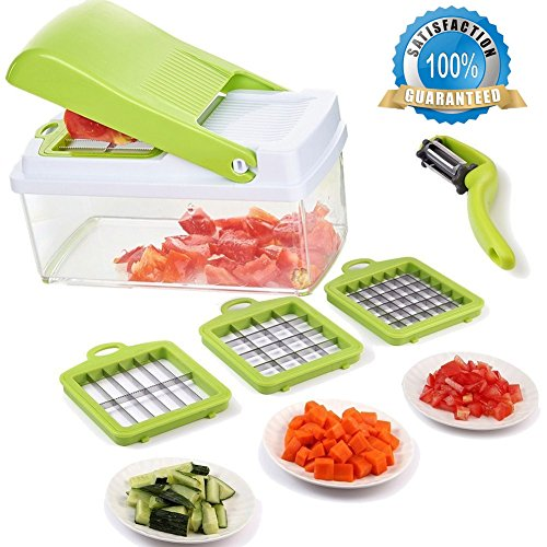 vegetable slicer green - 2