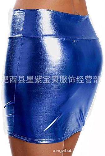 XiaoGao_ Cuerpo beautificationmoulding Cadera Ajustada Minifalda ...