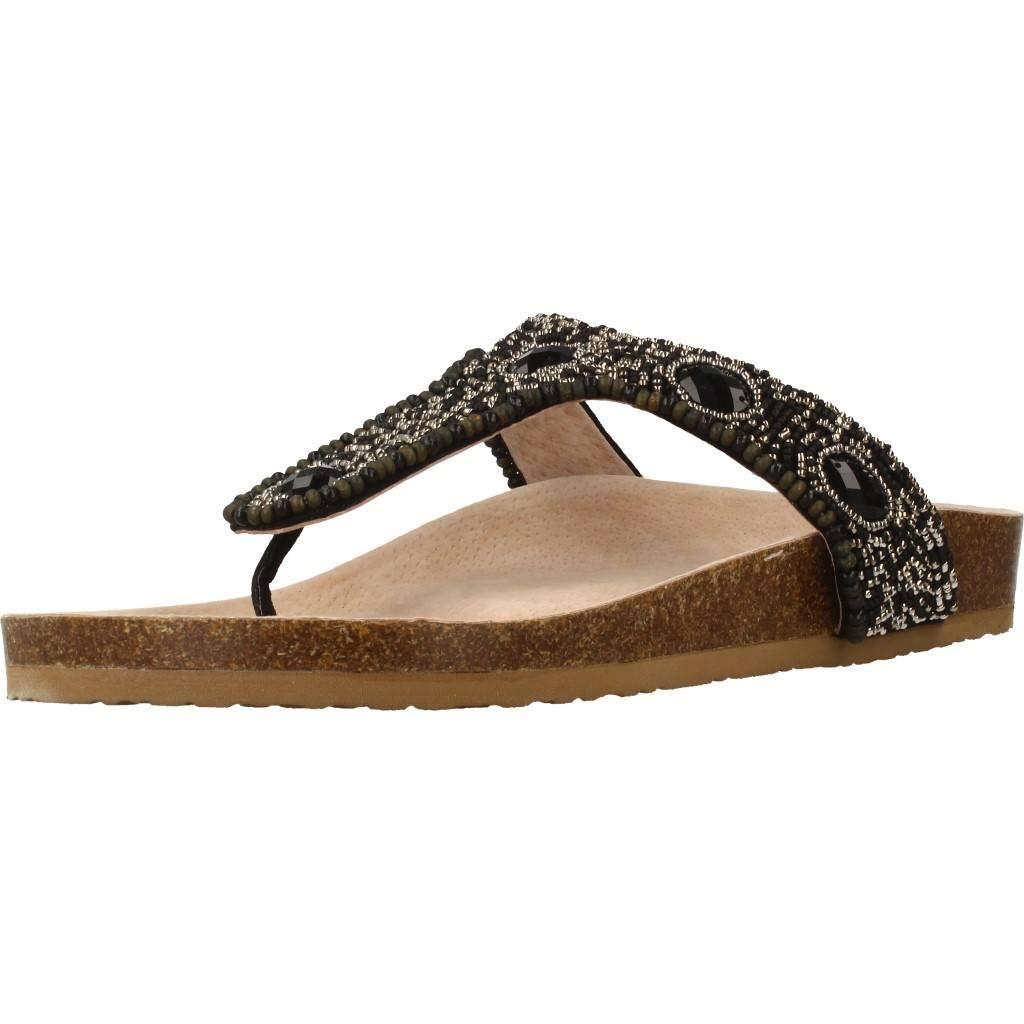 Lumberjack Sandalen/Sandaletten, Farbe Schwarz, ELGA Marke, Modell Sandalen/Sandaletten ELGA Schwarz, Schwarz 47f5ea