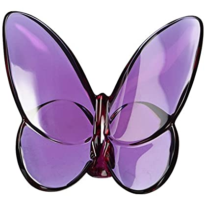 Image of Baccarat Crystal Lucky Butterfly Peony 2102548 Home and Kitchen