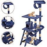"BestPet 64"" Cat Tree Tower Condo Furniture Scratch Post Kitty Pet House"