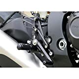 Sato Racing Rear Set Anodized Black for Honda 08-11 CBR1000RR Non ABS Models (H-CBR108RS-BK)