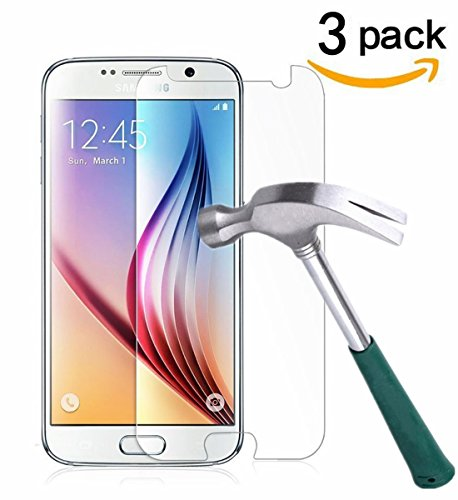 Tempered Glass Screen Protector For Samsung Galaxy S6 (Clear) - 6