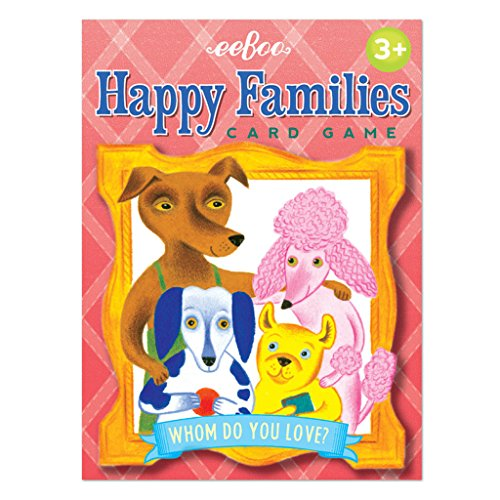 eeBoo-Cards, Happy Families (pchaf) (Happy Family Card Game)