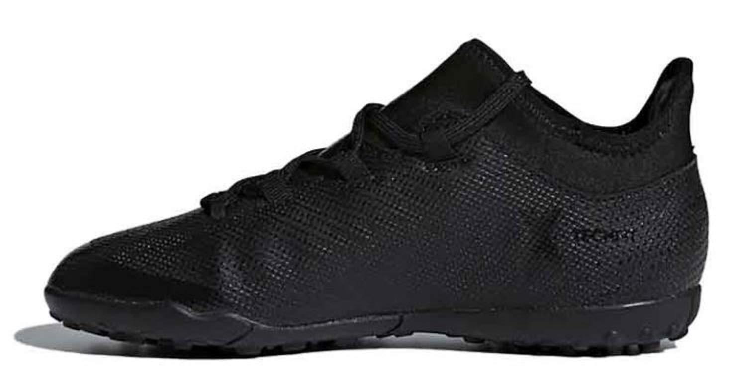 adidas Boys' X Tango 17.3 TF J (Turf) Soccer Shoe, CBLAACKCBLACKSUPCYA,5.5 Medium US Little Kid