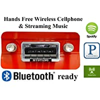 Bluetooth Enabled 1964-1966 Mustang USA-630 II High Power 300 watt AM FM Car Stereo / Radio USB, Aux, iPod inputs