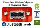 Bluetooth Enabled 1964-1966 Mustang USA-630 II High Power 300 watt AM FM Car Stereo / Radio USB, Aux, iPod inputs