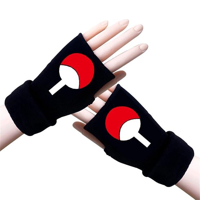 Amazon.com: Gumstyle Naruto guantes de sin dedos de invierno ...