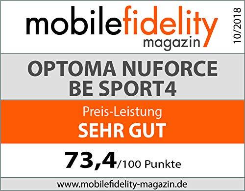 Optoma Nuforce BE Sport4 Cuffie Auricolari Wireless 770af0262865