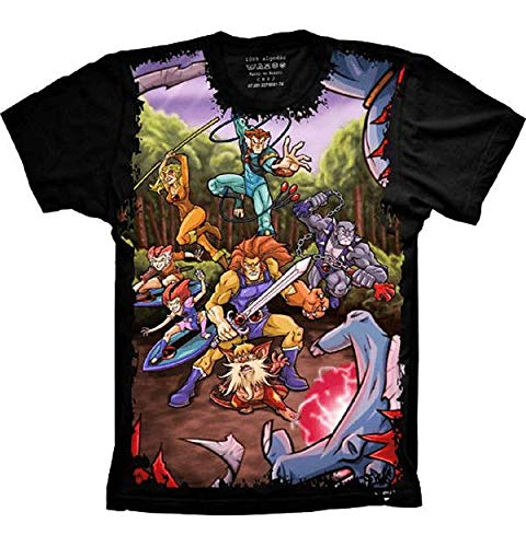 Camiseta Thundercats Personagens