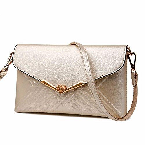 simple hombro Messenger Arroz moda de mano bolso bolso Arroz sobre Blanco de 5cm diferente blanco de embrague 16 bolso Bag bolsa 25 Nueva PHqw7d87
