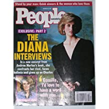 People Weekly Magazine - 20 October 1997 - 'The Diana Interviews' - Princess Diana