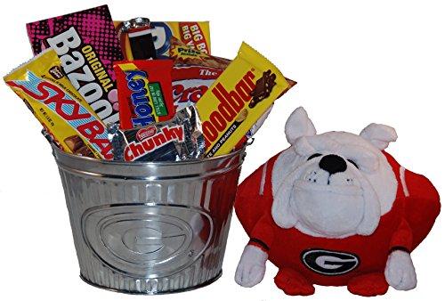 University of Georgia Snack Bucket Gift Basket - Large