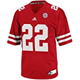 Nebraska Cornhuskers Adidas #22 Youth Replica Football Jersey (XL (18/20))