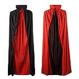 Unisex Adult Halloween Cape Cloak Vampire Magician Costume Accessories Props