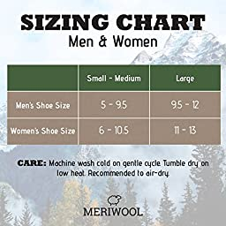 MERIWOOL 3 Pack Merino Wool Blend Socks