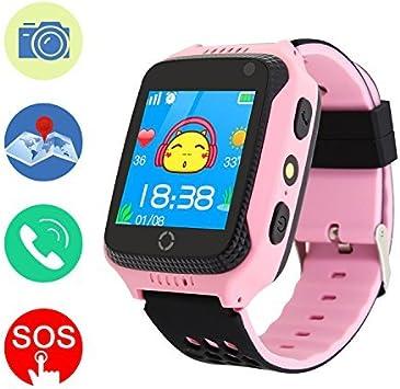 Mictchz - Reloj Inteligente con rastreador GPS para niños, con ...