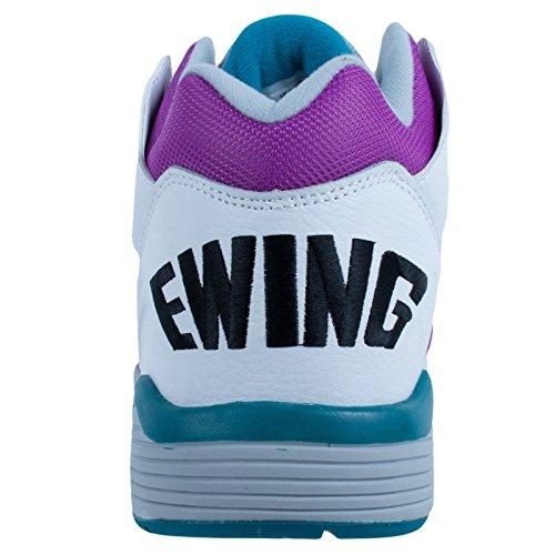 Ewing Friidrett Ewing Vikle Midten Hvite Drue Basketball Schuhe Sko Herren Menn Hvite