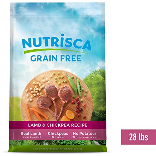 Nutrisca Grain-Free Lamb & Chickpea Recipe A
