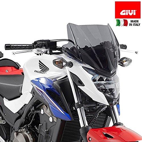 GIVI A1152 Wind Shield for Honda CB500F (Cb500f Honda Accessories)