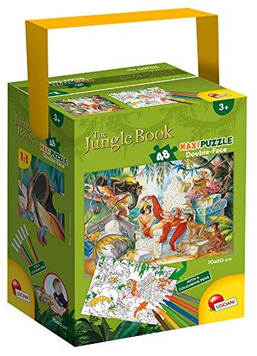 Lisciani Giochi Games 59027 - Puzzle in a Tub Maxi 48 Jungle Book